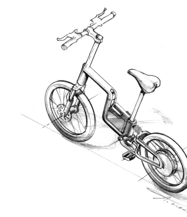Boceto bicicleta