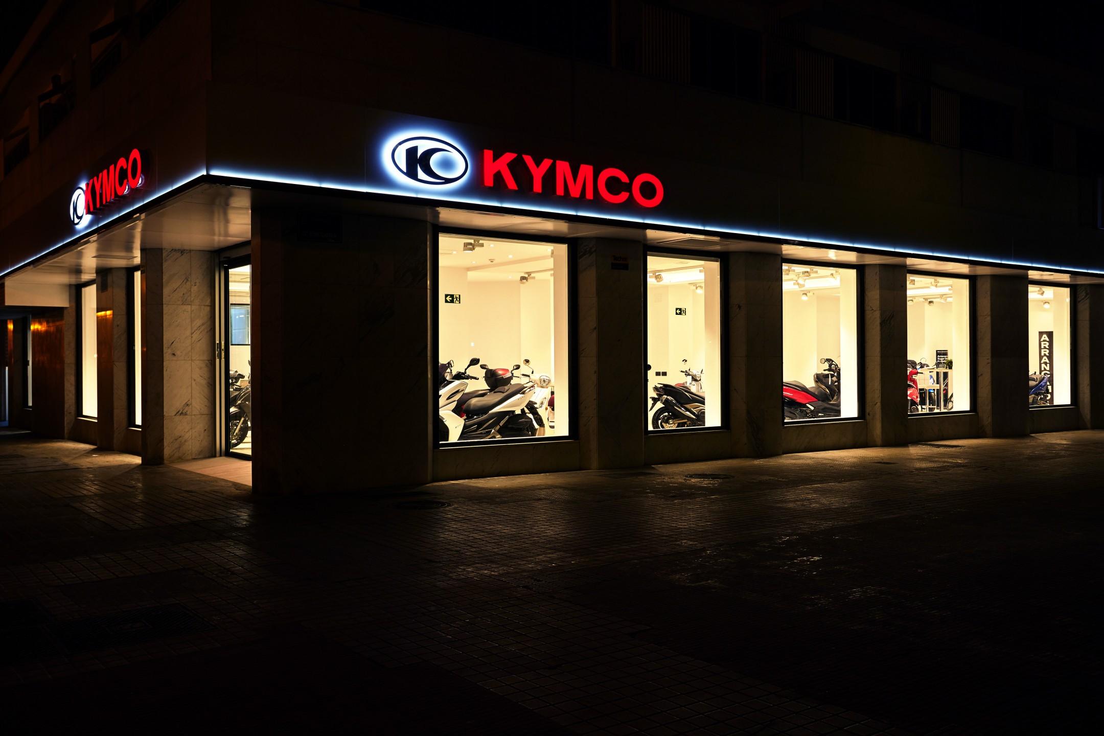 'Flagships' KYMCO España