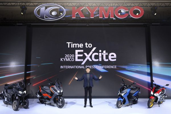 KYMCO presenta en primicia mundial novedades 2021
