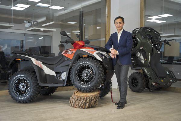 Carlos Wang: «Nos enorgullece el gran reconocimiento de los ATV KYMCO de 15 años»