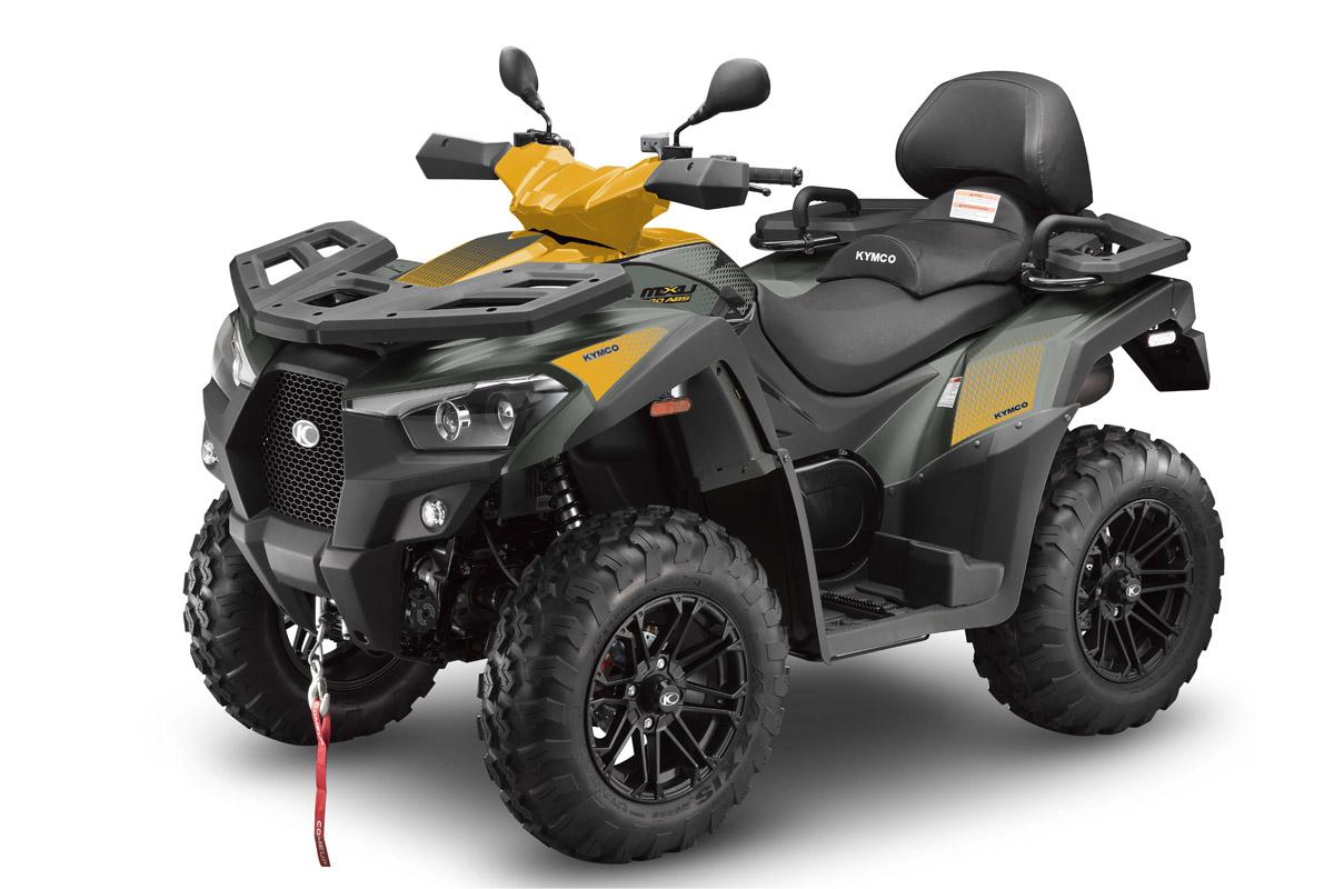 MXU 700, en su versión más innovadora con EPS y ABS, llegará a España en junio en gris/amarillo. KYMCO España