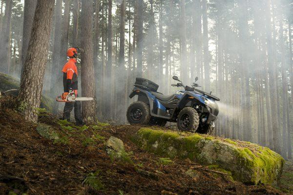 Nuevo MXU 550, el mejor ATV de trabajo