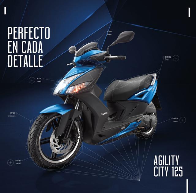 Nuevo Agility City 125