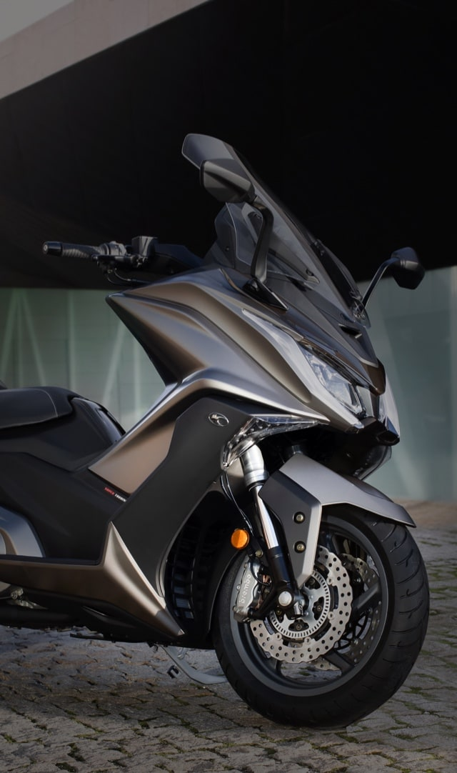 Maxiscooters 300 a 550cc